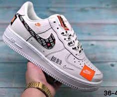 premium selection 9d965 f894b Nike Air Force 1 Low Just Do It 18SG