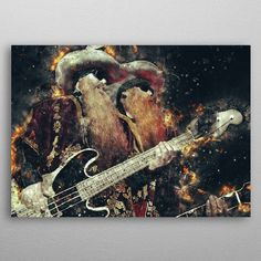 Dusty and Billy by Abraham Szomor | metal posters - Displate
