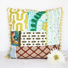 Bohemian Select Oversized Pillow CushionLuxury by inscribedesigns