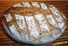 Super chutný chleba z žitného kvásku s podmáslím Aneb můj vychytaný chléb Slovak Recipes, Camembert Cheese, Food And Drink, Cooking, Breads, Pizza, Hampers, Artisan Bread, Bakken