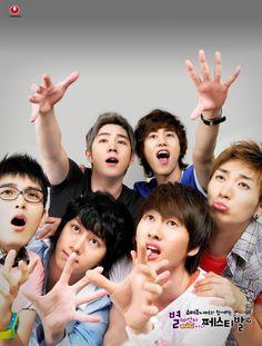Ryeowook, Heechul, Kangin, Kyuhyun, Eunhyuk, Leeteuk
