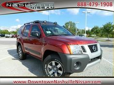 2012 Nissan Xterra 4WD Auto Pro-4X For Sale @ Downtown Nashville Nissan.  Click on photo for all details!