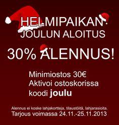 #seasonsale #jouluale #joulupukinapulainen