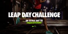 LEAP DAY CHALLENGE! On 2/29/12 have your most ROCKING workout of the month! #makeitcount