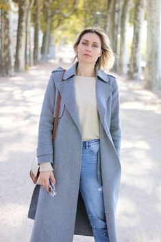 Look manteau peignoir long