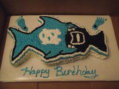 UNC/ DUKE Themed Cake