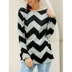 SHARE & Get it FREE | Wavy Line Print Long Sleeve Round Neck Color Block Plus Size T-ShirtFor Fashion Lovers only:80,000+ Items·FREE SHIPPING Join Dresslily: Get YOUR $50 NOW!