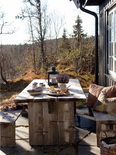 25 trendy home exterior rustic patio Bar Design, Home Design, Outdoor Dining, Outdoor Spaces, Outdoor Decor, Dining Table, Winter Balkon, Terrasse Design, Rustic Patio
