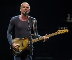 Sting, just turned 60. That's a lot of years making my life better. Thanks, Sting.
