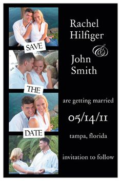 Save the date layout