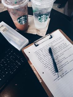 15/05/17 (May 15th, 2017) • Woke up really early to complete the work I didn't do yesterday • Spent 4 hours at Starbucks doing some review and taking down notes • Made more study guides...