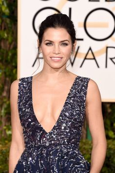 Pin for Later: See Every Drop-Dead Gorgeous Beauty Look From the Golden Globes Jenna Dewan Tatum