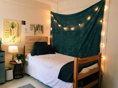 College dorm room essentials for a home away from home aj 8 Dorm Room Themes, Cute Dorm Rooms, College Dorm Decorations, College Dorm Rooms, Room Essentials, My New Room, Room Inspiration, House, Automotive Furniture