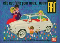 Vintage Advertising Posters | Fiat