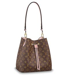 LOUIS VUITTON Official USA Website - Shop Louis Vuitton Monogram Neonoe bag, a luxury handbag in our iconic design in supple Monogram canvas with colorful calf-leather accents and an adjustable strap that lengthens for a modern, cross-body carry. Vuitton Bag, Louis Vuitton Handbags, Louis Vuitton Monogram, Louis Vuitton Collection, Sacs Design, Chanel Handbags, Women's Handbags, Leather Handbags, Fashion Clothes