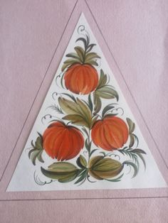 композиция в треугольной форме