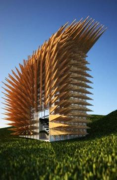 Viewing platform in West Scotland - PorcupiN platform - A project by Phormd