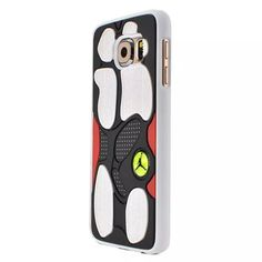 2016 3D Rubber Jordan Sneaker Shoes Sole Phone Cases for Samsung Galaxy S6, G9200, S6 edge