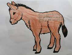 Poesía, adivinanza o trabalenguas sobre el burro de MIJAS
