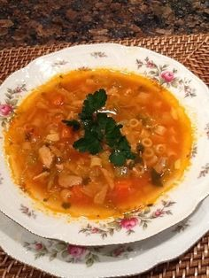 Polish Pork Bone Soup Recipe This recipe was given to me by my mother and it is a definite keeper