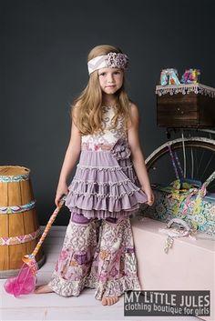 Mustard Pie Clothing Road Trip Mia Dress Lavender Spring 2014 phase 1 Preorder
