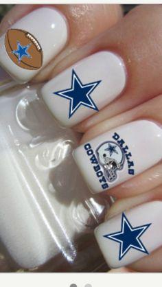 Dallas Cowboys Nails !!!!!!