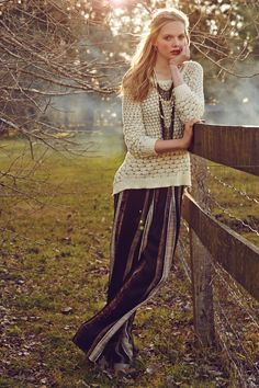 #Dot #Dot Pullover #Anthropologie Those pants though...