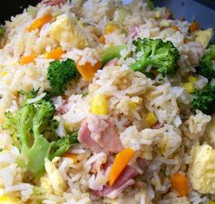 Thermomix 'Fried' Rice Recipe I made this today without any meat and it was fantastic......Tamari for the GF guests.