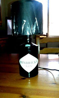 Lampada Gin Hendricks by Santino Cossu