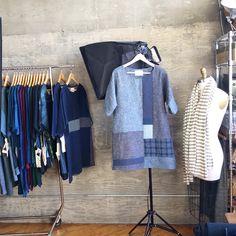 susaneastman.com pieces hemp/organic cotton denim dress / susaneastman.com
