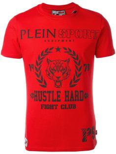 Plein Sport camiseta con estampado del logo