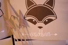 Plotterdatei WALDTIERE - Fuchs, Dachs, Wolf und Waschbär