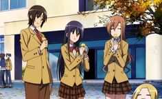 e37: student council members cook roasted sweet potato using the leaves