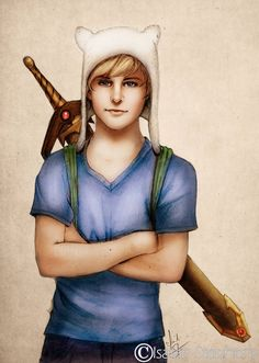 Finn the Human (Adventure Time) - 40 Realistic Versions of Cartoon Characters Page 2 of 2 Best of Web Shrine Realistic Cartoons, Cartoon Drawings Of People, Disney Drawings, Cartoon Images, Finn The Human, Adventure Time Finn, Cartoon Shows, Cartoon Characters, Fictional Characters