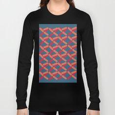 Crossing design Long Sleeve T-shirt Urban Looks, Graphic Sweatshirt, T Shirt, Urban Fashion, Sweatshirts, Long Sleeve, Sweaters, Shopping, Design