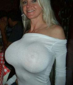 Big tits in wet shirts