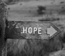 Inspiring picture black and white, hope, photography, quote, sign. Resolution: 500x333 px. Find the picture to your taste!