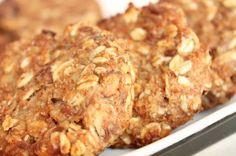 Ciastka owsiane dietetyczne, bez mąki i cukru