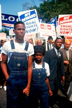 March on Washington, 28 August 1963, in LIFE Magazine.