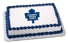 6 Round NHL Toronto Maple Leafs Hockey Logo Edible Image CakeCupcake Topper >>> To view further for this item, visit the image link. (This is an affiliate link) Toronto Maple Leafs Wallpaper, Toronto Maple Leafs Logo, Wallpaper Toronto, Hockey Birthday, Hockey Party, La Kings Hockey, Maple Leafs Hockey, Hockey Logos, Cake Logo