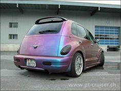 Pt Cruiser pink pearl