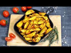Кулінарний блогер Дмитро Дорошенко поділився рецептом хрумкої картоплі в духовці Kung Pao Chicken, Meat, Vegetables, Ethnic Recipes, Food, Youtube, Recipes, Essen, Eten