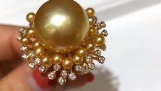 HOT HUGE AAA 13-14 mm South Sea White Stud Pearl Earrings 14k GOLD