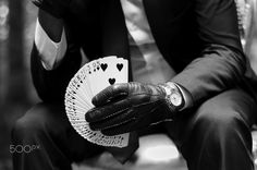 Man's cards - null