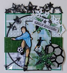 Geertje Joy!Crafts voetbal A4 Paper, Paper Decorations, Soccer Players, Soccer Ball, Your Favorite, Paper Crafts, Joy, Decorative Paper