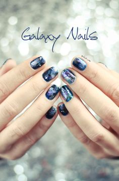 Galaxy Nails from Pshiiit.com
