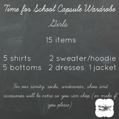 Time for School Capsule and Sew-Along | Rebel & Malice
