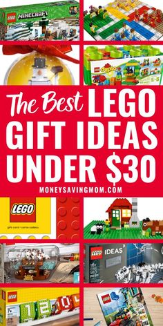 Here are 20+ LEGO Christmas Gifts Under $30.  These are great gifts for LEGO lovers for kids, and include some best LEGO gifts for kids or adults. #LEGOlovers #LEGOgifts #giftsforkids # #LEGOgiftsforkids #LEGOChristmasgifts Lego Christmas Gifts, Christmas On A Budget, Simple Christmas, Christmas Ideas, Lego Advent Calendar, Lego Gifts, Money Saving Mom, Living On A Budget, Get Free Stuff