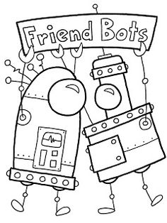 55 Best Robot Coloring Pages Images In 2018 Coloring Pages Color