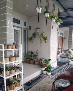 Inspirasi Home Dekorasi Rumah depan rumah Design Your Own Home, Home Room Design, Minimalist House Design, Minimalist Home, Outdoor Laundry Rooms, Terrace Decor, Backyard Garden Design, Small House Plans, Home Decor Furniture